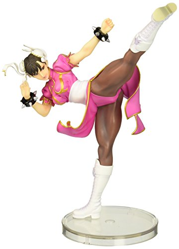 Kotobukiya Street Fighter Chun-Li Bishoujo Statue (Pink Costume) Limited Edition (1/7 Scale) - Street Fighter Chunli Adult Costumes