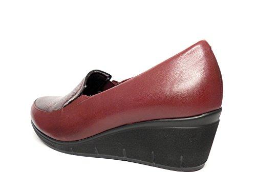 Burdeos Piel Negro Disponible En Extraible 1821 Mujer Y Pitillos Color Laterales Plantilla Elásticos Zapatos Cómodos Negro 569 Muy 7vxw5wUH