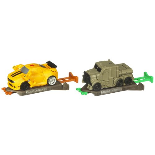 Transformers Dark Of The Moon - Bash Bots - Bumblebee Vs ... Transformers 3 Bumblebee Vs Megatron