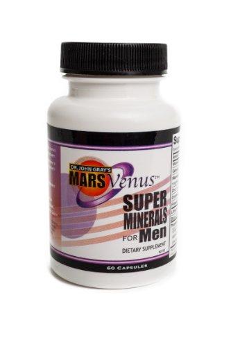 - John Gray's Mars Venus Super Minerals for Men