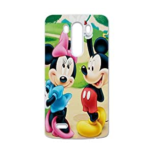 SANLSI Disney Mickey and Minnie Case Cover For LG G3 Case