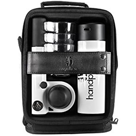 Handpresso HPOUTDOORCMPLT WHT Pump Espresso Machine Outdoor Set White