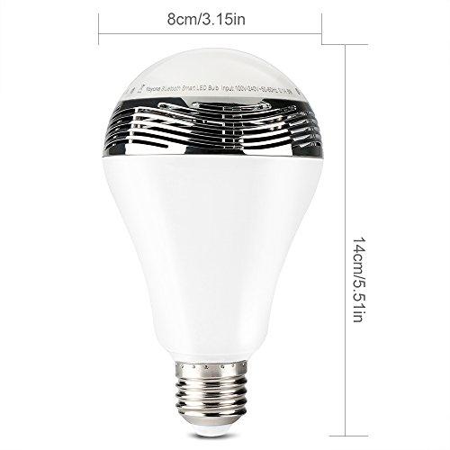 1byone Wireless Bluetooth Speaker Smart Led Night Light