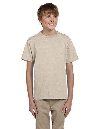 Gildan Ultra Cotton Youth T-shirt (Gildan Youth Ultra Cotton 6 Oz T-Shirt - Sand - L - (Style # G200B - Original Label))