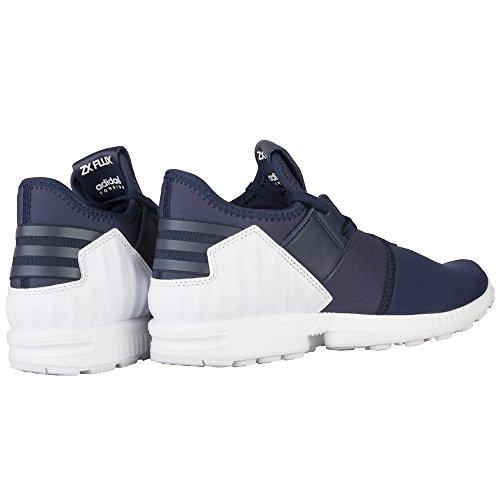 Grande Originals 10 Marine ZX Pour Blanc Neuf Pour Hommes UK Marine Flux Baskets adidas Tailles 5 5 3 H8Uqw4fA8