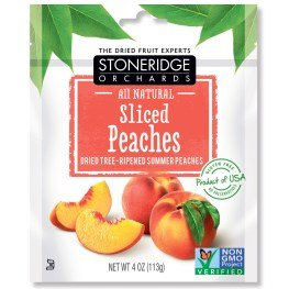 Stoneridge Orchards  Sliced Peaches  Dried Tree Ripened Summer Peaches  4 Oz  113 G  Pack Of 2