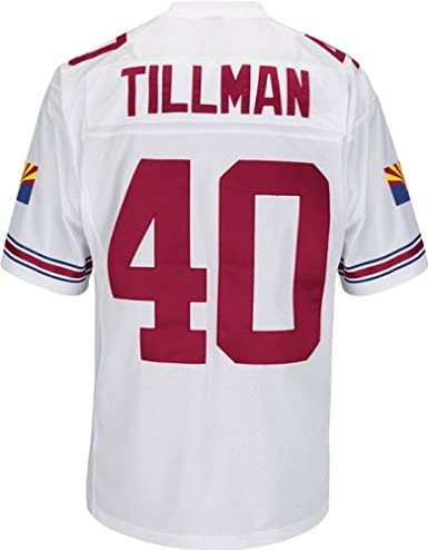 Amazon Xxx-large Cardinals Jersey Stitched Tillman com Arizona Throwback White amp; Sports Outdoors Jerseys Fan Pat