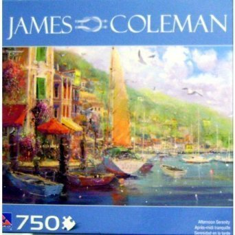 JAMES COLEMAN AFTERNOON SERENITY 750 Piece PUZZLE by Sure-Lox