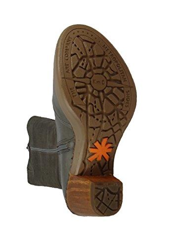 Art Stivali in Pelle Nera Cannes Nero 0540, Schuhe Damen:40