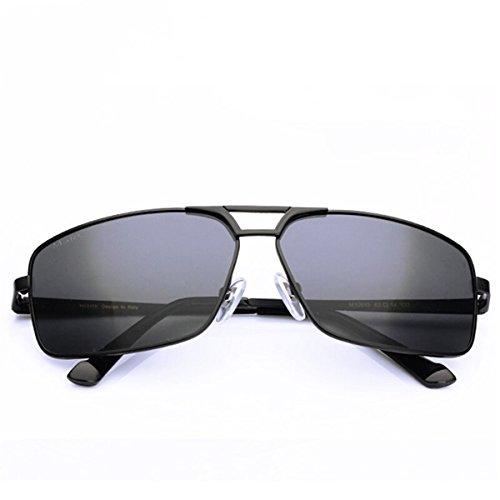 polarizadores Gafas de Gafas los Conductores de Sol KOMNY Sol de Macho Color los polarizador Hombres de de de Sol Hombres Hombres Dumb Gafas Black Pistola zq6fn7