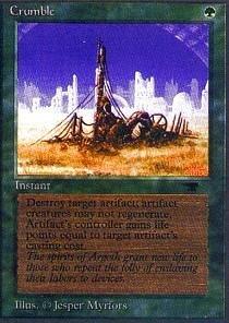 Magic The Gathering - Crumble - Antiquities
