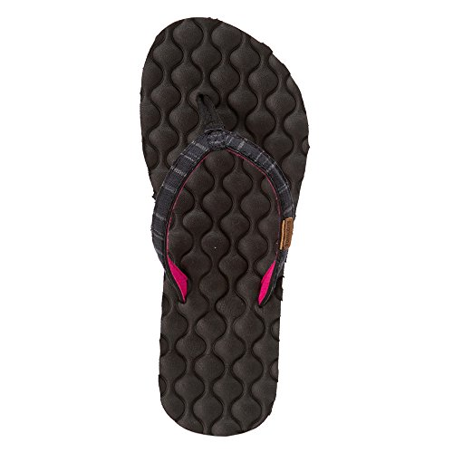 Freewaters Mujeres Mandy Sandal Footwear Black Stripe
