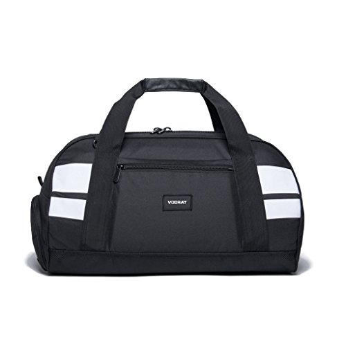 vooray-burner-21-gym-bag-with-shoe-pocket-and-laundry-bag-black-white
