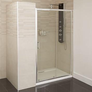 Badezimmer Dusche 6 mm Glastür Seitenkühlergrill Display 1000 ...