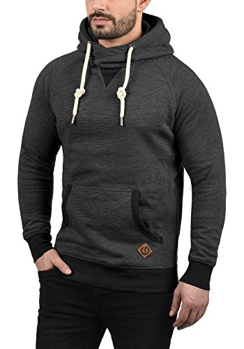 Capuche À Polaire solid Vitucross Med Sweat Homme Pull Pour Grey 8254 Hoodie Doublure AUwOxwt