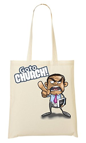 Go To Church Bolso De Mano Bolsa De La Compra