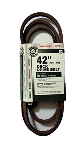 Troy-Bilt 42 Deck Drive Belt for Riding Mowers/Tractors OEM-754-04252