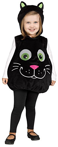 Cat Googly Eyes Infant Costume (Pink Cat Halloween Costume Toddler)
