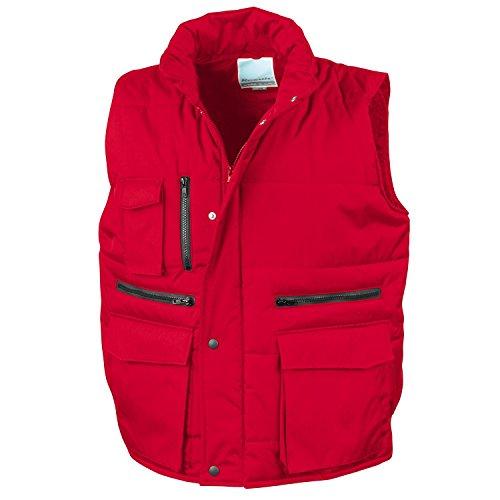 Result Workguard Gilet Bodywarmer rot Medium [Textilien]