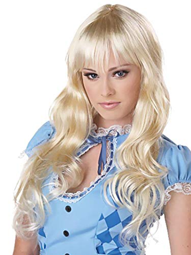Michael And Kelly Costumes For Halloween (California Costumes Eye Candy Coquette Wig, Blonde, One)