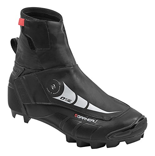 Louis Garneau 0 degrees LS-100 Mountain Bike Shoes (Black, 46.0) - Men's