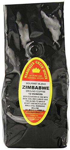 Marshalls Creek Spices Gourmet Ground Coffee, Zimbabwe. , 12 Ounce