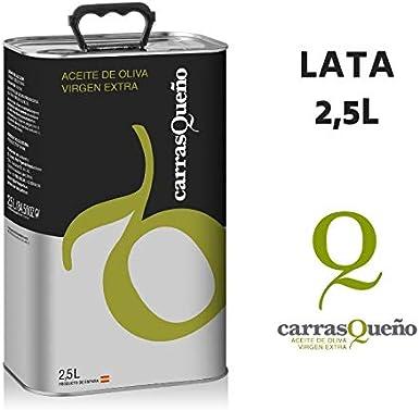 Caja 6 latas - Aceite de Oliva Virgen Extra Carrasqueño - LATA 2,5L: Amazon.es: Alimentación y bebidas