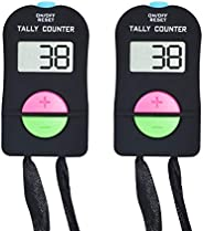 VANVENE Digital Hand Tally Counter,Electronic Digita Counter,Add and Subtract People Flow Manual Clicker for G