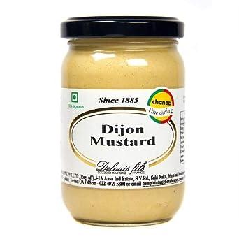 Deloius Dijon Mustard, 200g Mustard at amazon