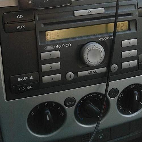 CUHAWUDBA Coche 6000Cd M/ódulo Inal/ámbrico Adaptador De M/úsica Cable De Audio Auxiliar para Focus Mondeo