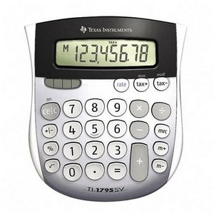 Texas Instruments TI-1795 SV Solar Calculator