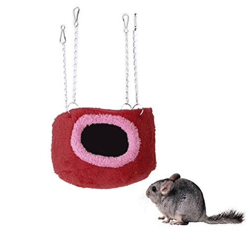 LEORX Kuschelhöhle Ratte Hamster Papagei Frettchen Kaninchen Eichhörnchen Spielzeug Haus Hängematte Hängende Bett
