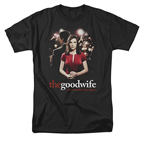 Good Wife Men's Bad Press T-shirt XXX-Large Black (The Good Wife Merchandise compare prices)