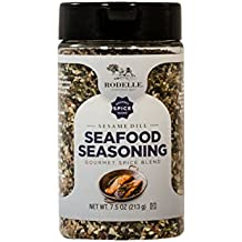 Rodelle Seafood Seasoning, Sesame Dill, 7.5 Ounce