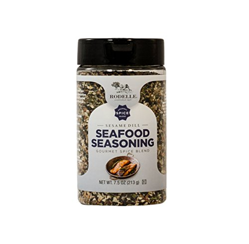 Spices Dill (Rodelle Seafood Seasoning, Sesame Dill, 7.8 Ounce)