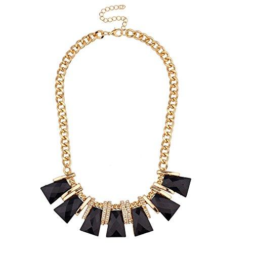 Lux Accessories Black...
