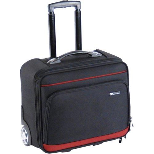 CalPak Suitor Rolling Briefcase – Black, Bags Central