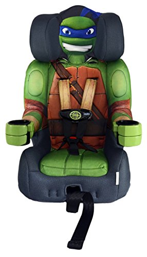 Nickelodeon KidsEmbrace Combination Toddler Harness Booster Car Seat, Teenage Mutant Ninja Turtle Leo (Ninja Turtle Car)