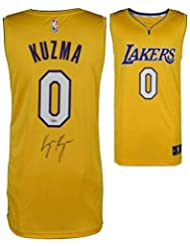 Kyle Kuzma Autographed Jersey - Gold FANATICS - Fanatics Authentic Certified - Autographed NBA Jerseys