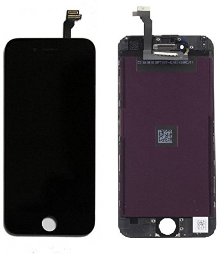 official photos e2dd7 0530e 0RIGINAL Glass LCD Folder for Apple iPhone 6 Plus (Black)
