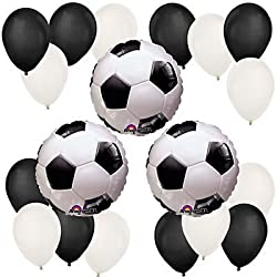 Soccer Birthday Party Balloon Kit by Party Supplies