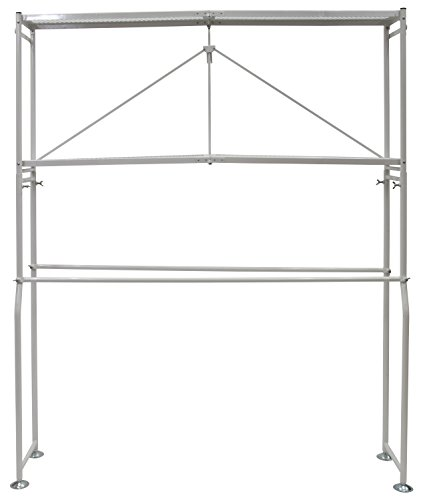 Origami WDR-WH Washer/Dryer Rack, White