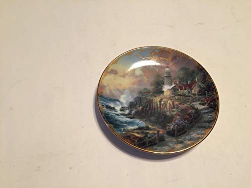 BRADFORD EXCHANG April The Light of Peace Thomas Kinkade Collector Plate Small 5 1/2 INCHES