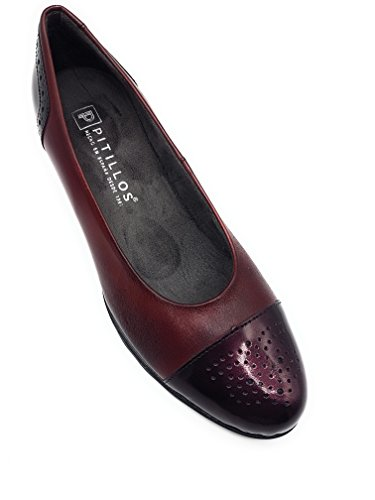 Shoes PITILLOS PITILLOS Court Women's Women's Burgundy wRvq04z