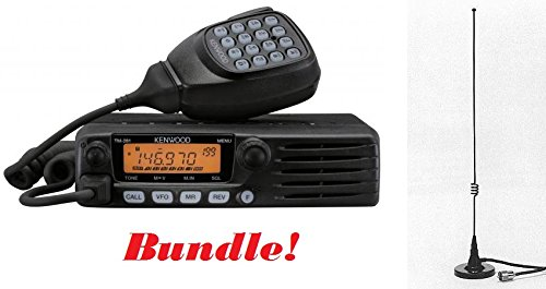 Kenwood TM-281A Mobile Radio & Comet M-24M Mag Mount Antenna Bundle
