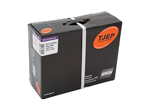 TJEP GR 28/80 D-Kopf Streifennä gel Rille Verzinkt, 2,8x80mm Jumbobox