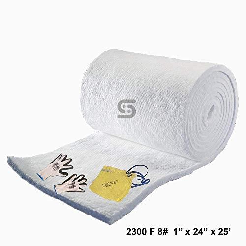 Ceramic Fiber Blanket 8# Density, 2300F (1