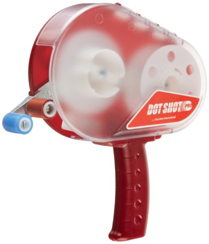 Dot Shot Plastic Pro Dispenser Gun, Red -