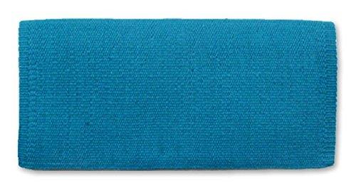 Mayatex San Juan Solid Saddle Blanket, Soft Turquoise, 36 x (Blanket Horse Tack)