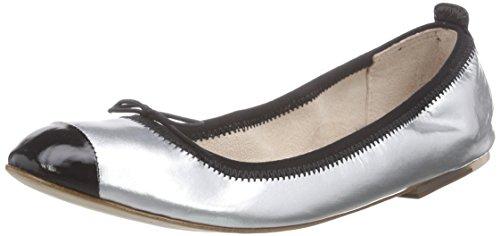 Bloch Luxury Ballet Flat, Ballerine da donna Argento (Silber (Arg)